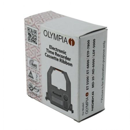 ผ้าหมึกเครื่องตอกบัตร โอลิมเปีย OLYMPIA (ET-2800, 6800, 3800, 7800, 5800, 5500)