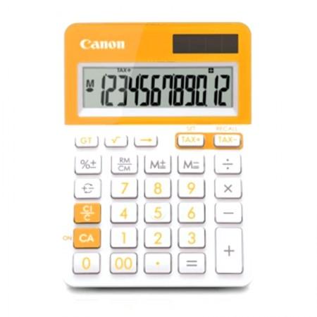 เครื่องคิดเลข CANON LS-123T Calculator (สีส้ม)